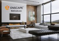 Enscape3D 3.0.0 Crack & License Key Full Version (2D+3D)