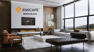 Enscape3D 3.1.2 Crack & License Key Full Version (2D+3D)