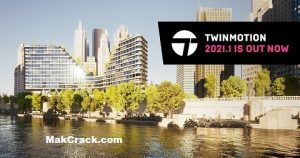 Twinmotion 2021.1 Crack With Serial Key (3D & 2D) Free Download