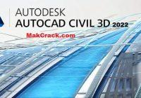 Autodesk Civil 3D 2022 Crack + Product Key (100% Working)
